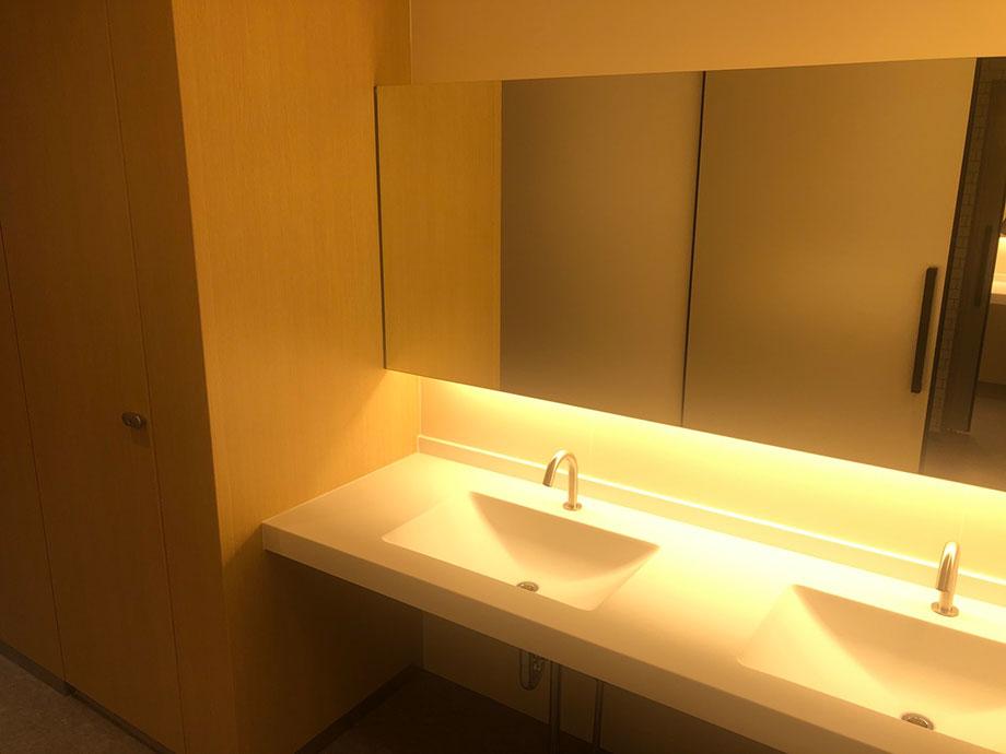 外来のトイレも新しくなりました
